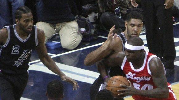 Leonard scores 27 as Spurs defeat Grizzlies 103-83
