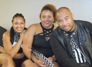 Del Lawrence, Whitney Lucas and Mia Johnson.