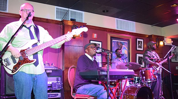 Carl Caspersen on bass, Will Graves on keys, Courtney Barnes on Drums and T.O. Crivens on lead guitar.