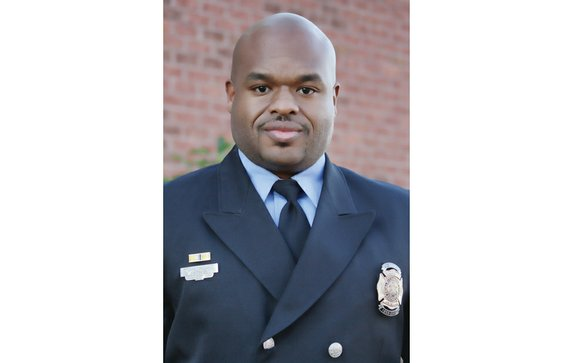 James A. McCain says being a firefighter with the Richmond Department of Fire and Emergency Services is a dream come ...
