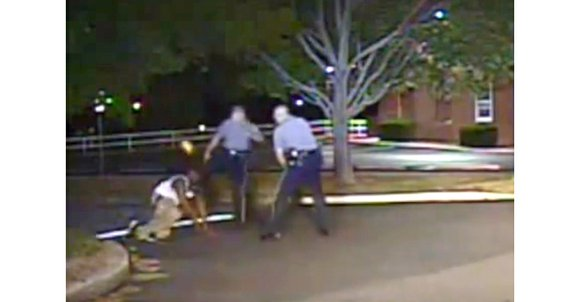 A White Delaware police officer charged with kicking a Black suspect in the head during an arrest two years ago ...
