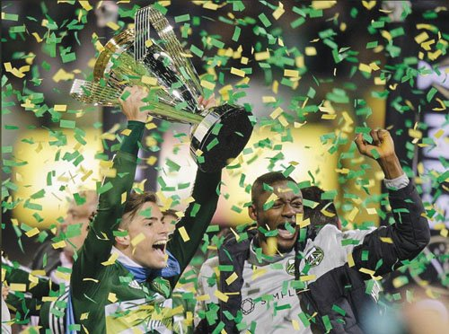 The Portland Timbers had a plan to attack early in their first MLS Cup appearance. They didn't expect it to ...