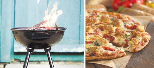 With college football bowl games around the corner, consider grilling a frozen pizza. Most people think of burgers, hot dogs ...