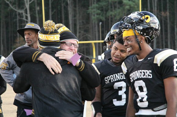 Oozing with momentum, Highland Springs High School has won 13 straight football games and needs just one more victory to ...