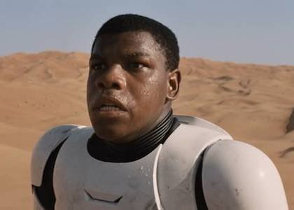 """Star Wars"" newcomer John Boyega is poised for superstardom when ""Stars Wars: The Force Awakens"" opens Dec. 18. The British ..."