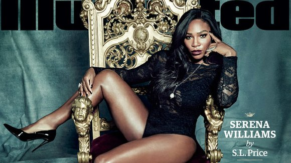 Serena Williams has been named 'Sports Illustrated's Sportsperson of the Year and is the first female athlete to be honored ...