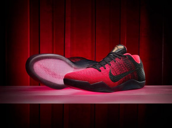 Kobe Bryant's retirement tour came to a halt today as he and Nike officially unveiled the last signature shoe he'll ...