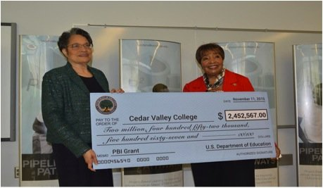 Federal Grant  >> Cedar Valley College Receives 2 4 Million Federal Grant To Ensure