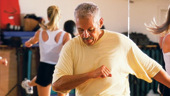 Regular exercise can increase the efficiency of the heart, which can help prevent or control high blood pressure.