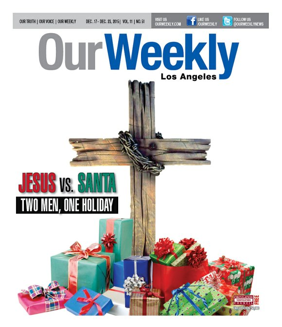 jesus vs santa claus who really rules the season our weekly