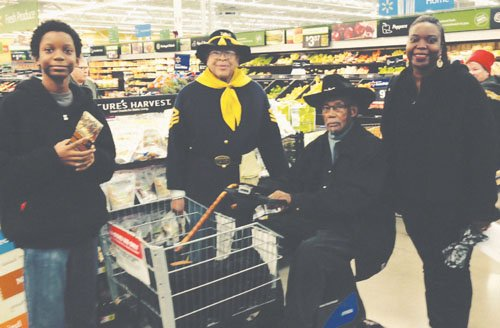 A great community service event occurred Saturday at the Walmart on Hayden Meadows when members of the Buffalo Soldiers took ...