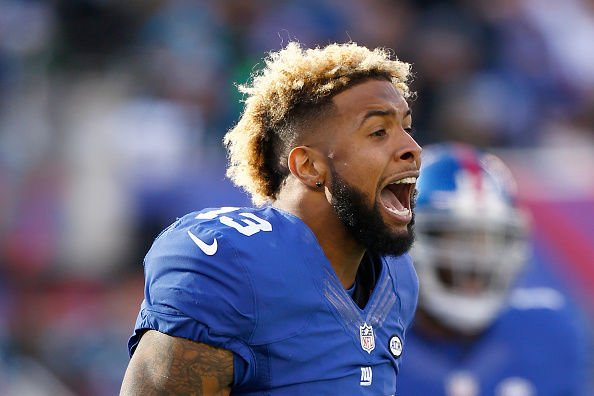 The New York Giants star was showing out during the Pro Bowl.