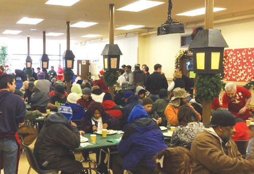 Union Gospel Mission, downtown, will be providing 650 meals on Christmas Day, Friday, Dec. 25 from 10 a.m. to 2 ...