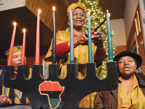 The community is invited to celebrate Kwanzaa, the holiday that honors African heritage and celebrates family, community and culture, during ...