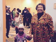 Peggy Montes, founder of the Bronzeville Children's Museum, 9301 S. Stony Island Ave., Chicago, Ill., celebrated Kwanzaa on Saturday at her facility.
