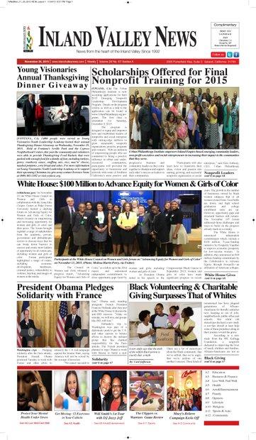 IVN November 26, 2015 Edition