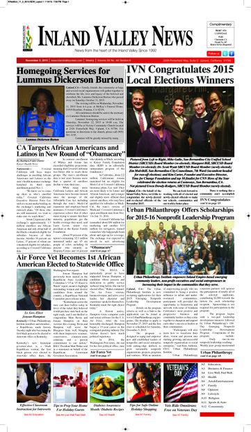 IVN November 5, 2015 Edition
