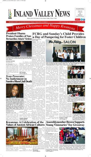 IVN December 24, 2015 Edition