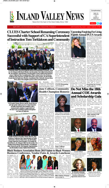 IVN April 9, 2015 Edition