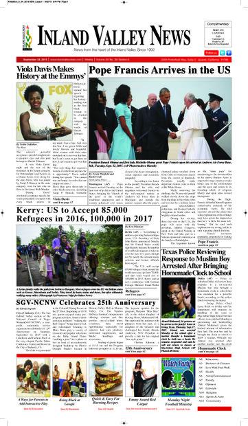 IVN September 24, 2015 Edition