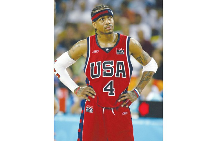 fb3612adbe9 Allen Iverson has moved ahead of schedule for his likely arrival in the  Naismith Memorial Basketball