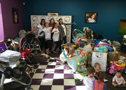 Diapershare Sharebaby Donate Baby Goods To Homeless Shelters The