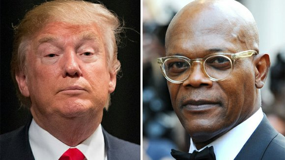 Samuel L. Jackson and Donald Trump are taking shots at each other over social media.