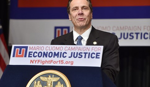 Governor Andrew M. Cuomo unveils the first signature proposal of his 2016 agenda – his push to restore economic justice by making New York the first state in the nation to enact a $15 minimum wage for all workers.