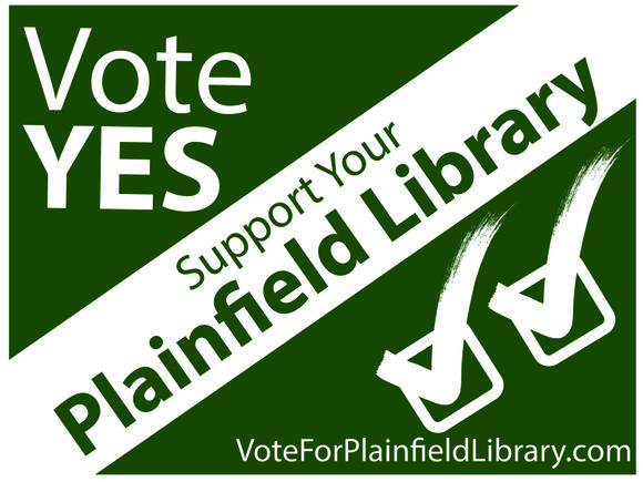 Letter writer Pam Jackson supports the Plainfield Library referendum and encourages as 'yes' vote on Tuesday.