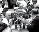 "Dr. Martin Luther King, Jr. delivers his ""I Have A Dream"" speech on August 28, 1963"
