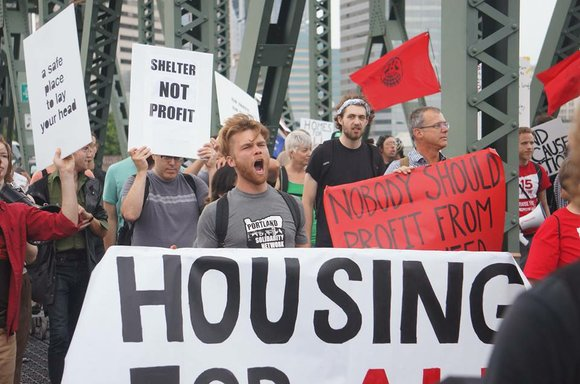 The Portland Tenants Union invites the community to join them at Portland City Hall Friday as they make demands for ...