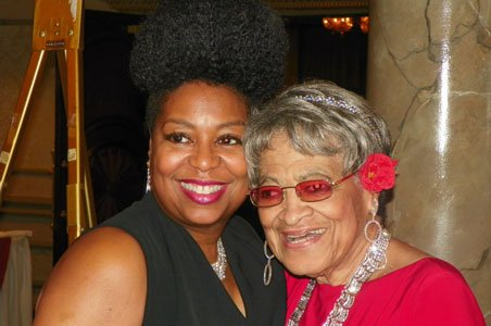 Robin Beamon and Margaret Turner, Charter Member