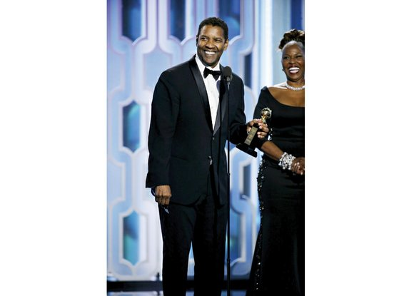 Oscar-winning actor Denzel Washington joined the ranks of Steven Spielberg, Martin Scorsese and Robert De Niro when he was awarded ...