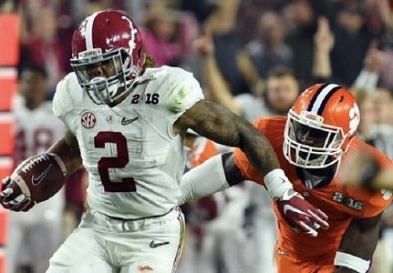 University of Alabama running back Derrick Henry elected to forego his final season of eligibility and declare for the 2016 ...