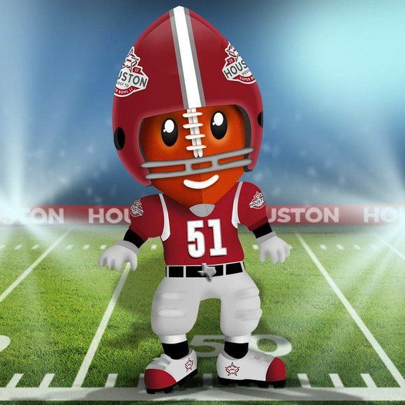 The Houston Super Bowl Host Committee will introduce its mascot to Houston on Sunday at the Chevron Houston Marathon. The ...
