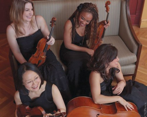 Mousai Remix, a Portland -based string quartet comprised of Oregon Symphony members Emily Cole, Shin-young Kwon, Jennifer Arnold, and Marilyn ...