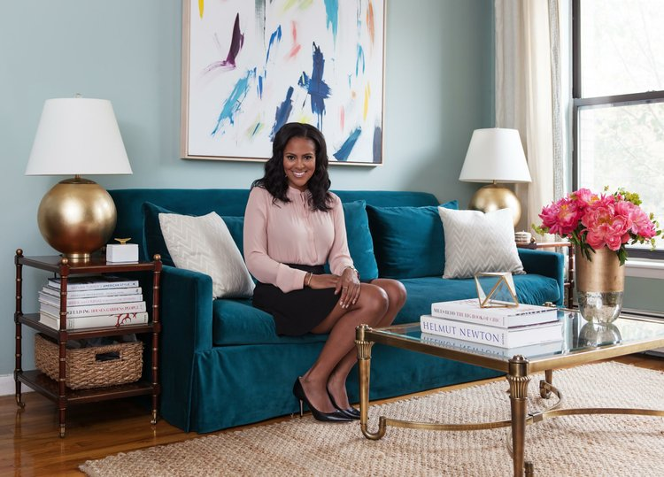 Bon Nicole Gibbons, An African American Interior Designer And TV Personality,  Is The Interior