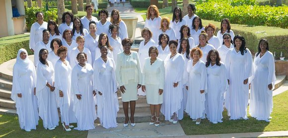 Alpha Kappa Alpha Sorority, Incorporated® made history today when it chartered its first chapter, Omega Theta Omega, in the Middle ...