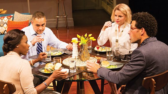 """Ayad Akhtar's play """"Disgraced"""" has had a strong run since its 2012 debut at American Theater Company in Chicago. A ..."""