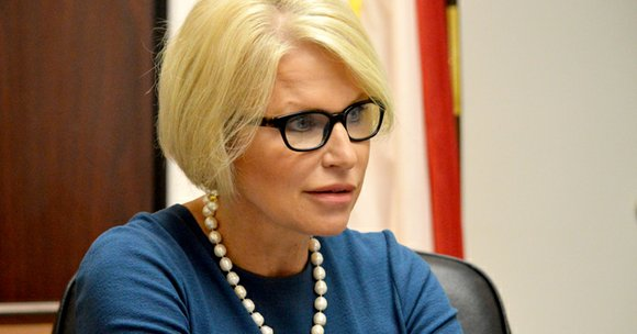 """""""That's why I'm such a believer,"""" said District Attorney Susan Hawk as she described the Reformative Justice Unit programs her ..."""