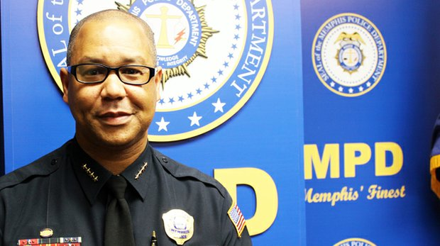 Interim Memphis Police Chief Michael Rallings