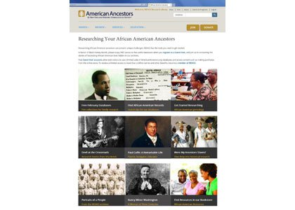 To commemorate Black History Month in February, New England Historic Genealogical Society (NEHGS) has assembled a wealth of information in ...