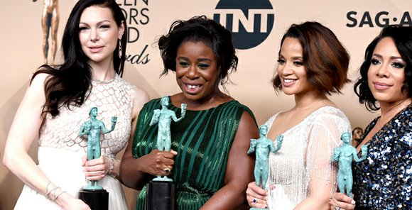 Over just a few hours Saturday night, the SAG Awards and Sundance showered their honors on a parade of performers ...