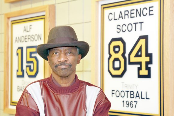 Clarence Scott is used to blazing trails
