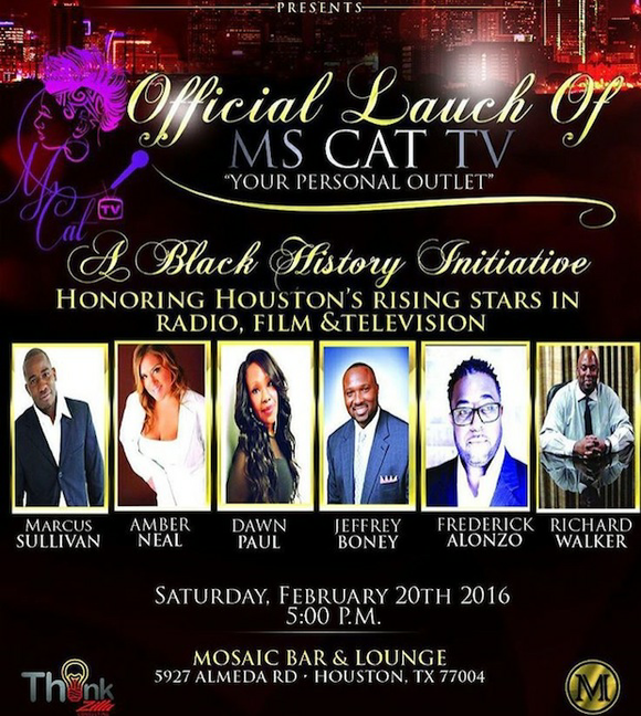 """Ms Cat TV, an emerging leader in entertainment programming, will celebrate its official relaunch with the """"Houston's Rising Stars"""" awards. ..."""