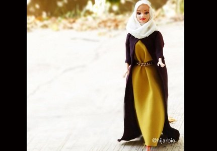 Barbie has had another makeover. This time as a hijab-wearing Muslim.
