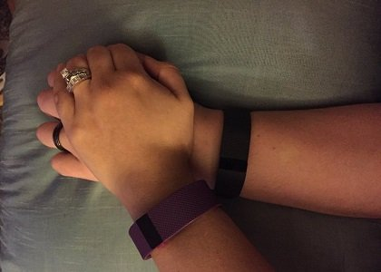 Quick feedback from a Connecticut woman's Fitbit confirmed her suspicions that her shortness of breath and rapid heartbeat were cause ...