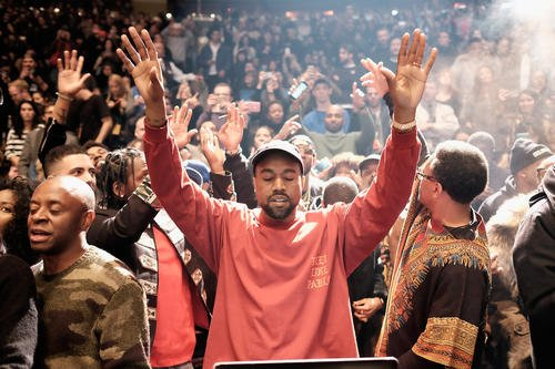 Kanye West is reportedly the first artist in history to have an album at No. 1 solely on music streams ...