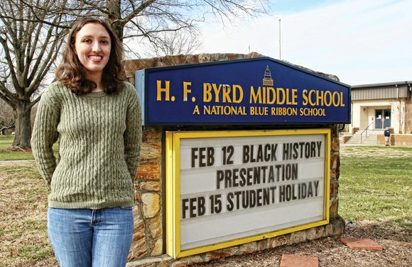 Jordan Chapman said her jaw dropped in incredulous disbelief the day she learned in her Hermitage High School history class ...