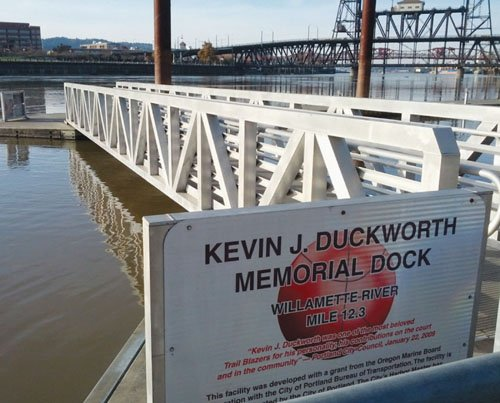 The downtown core may be losing its public dock on the Willamette River with a proposal to move it to ...